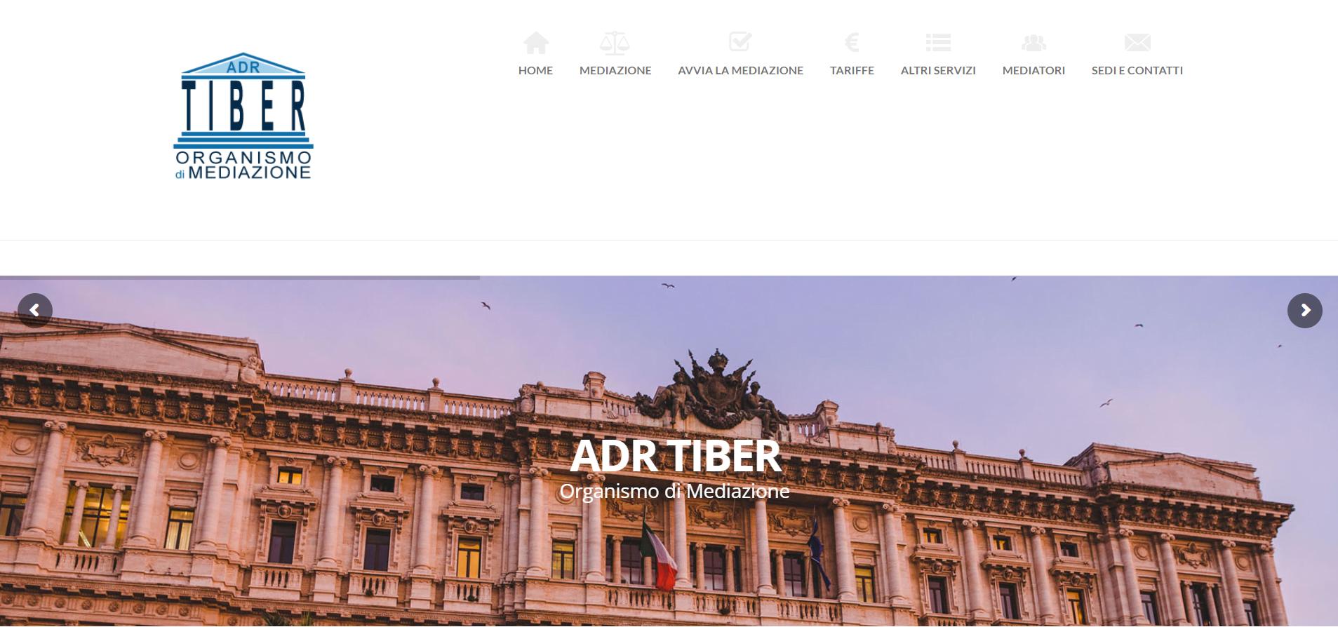 Realizzazione sito web e ottimizzazione SEO per Adr Tiber Srl