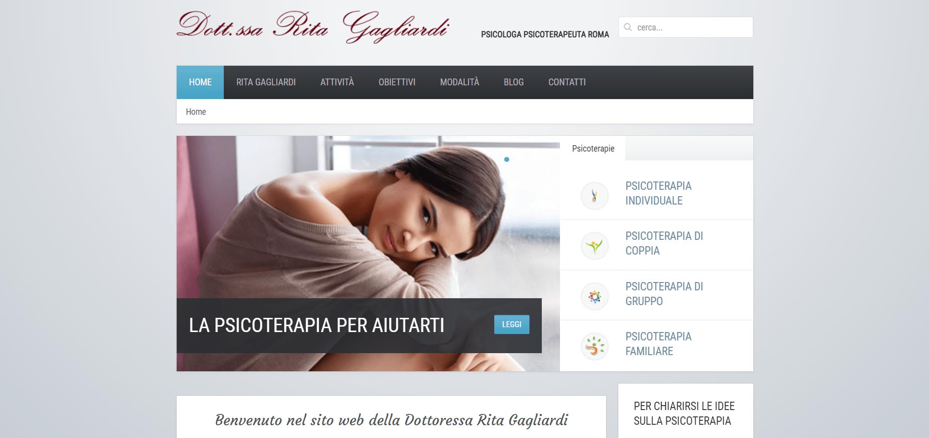 Psicologa Roma Rita Gagliardi